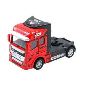 Harga 1:50 Scale Die Cast Truck/Children's Day Gift/Kids Toy/OutdoorToy/Xmas Christmas Day Gift Red