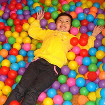 Children Developmental Toy ball Soft Swim Ball Pits (Multicolor) -intl
