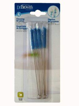 Dr.Brown's : DRB620 แปรงล้างแกนกลางขวดนม Cleaning Brushes, 4 Pack