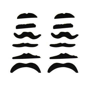 Fang Fang Fake Moustache Mustache (Black)