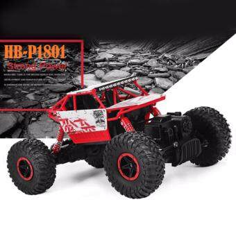 Harga Astro รถไต่หิน Scale 1:18 Rock Crawler 4WD 2.4ghz (RED)