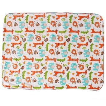 Harga Hang-Qiao Kids Cartoon Lion Blanket (Multicolor)