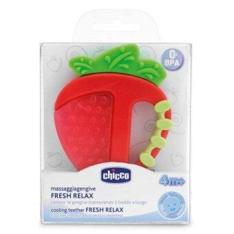 Harga Chicco ยางกัด Fresh Relax Teether - Strawberry