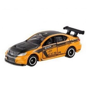 Harga Tomica No.107 รถเหล็ก Lexus IS F CCS-R (Yellow)