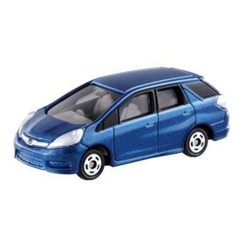 Harga Tomica รถเหล็ก No.100 Honda Fit Shuttle (Blue)