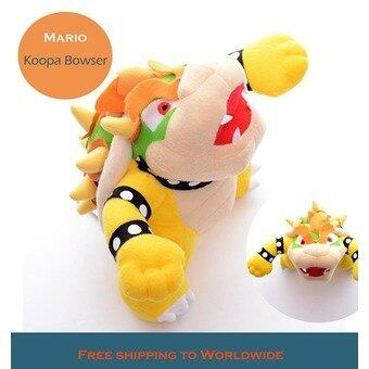Harga Lovely Mario World 2 Koopa Bowser Plush Mario Dragon Collection Game Dolls 10'' Brand New - intl