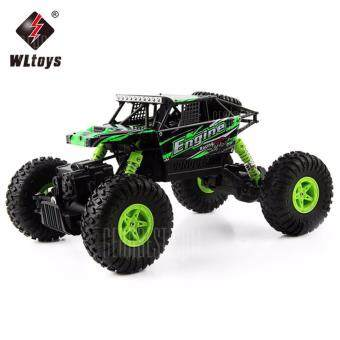 Harga รถไต่หิน off-road 4WD 2.4Ghz. WLtoys 18428 - B 1:18 4WD RC Climbing Car