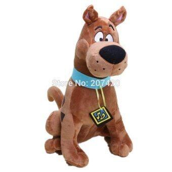 Harga 13'' 35cm Cute Scooby Doo Dog Soft Stuffed Plush Toy Dolls Gift For Kids - intl