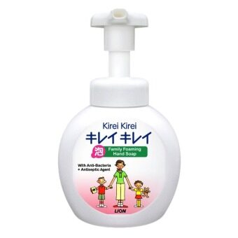 Harga Lion Kirei Kirei Family Foaming Hand Soap (สีขาว) 250 ml.