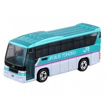 Harga Tomica No.16 รถเหล็ก Isuzu Gala JR Bus Tohoku (Blue)