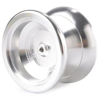 Harga Magic Professional Magic Yo-Yo K5 Alloy Aluminum Metal Yo-Yo Toy for Kids (Silver)