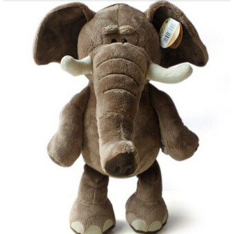 Harga GDS Super Cute Germany Nici Jungle Brother Doll Elephant Plush Toy - intl