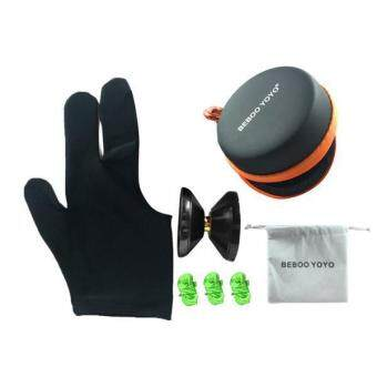 Harga BolehDeals Beboo Yo Yo S2 PRO Aluminium Alloy Magic Yo Yo w/ Case Glove Set Kids Gifts - intl
