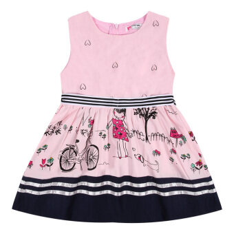 Harga Princess Dress Girls Clothes Baby Girls Sleeveless Dress