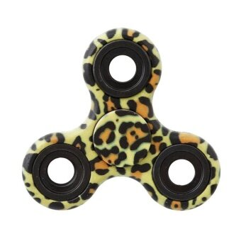 Harga Ai Home Tri-spinner Fidget Hand Spinner Decompression Mini Toys Single Finger Spinner (Spot Yellow) - intl