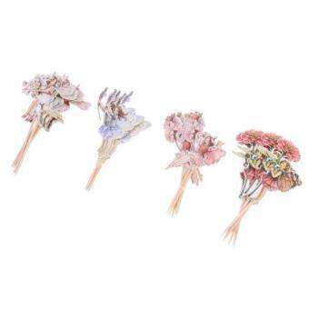 Harga MagiDeal 24 Pieces Flower Fairy Pixie Cupcake Cake Topper Pick Party Cake Decor - intl