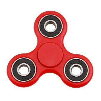 Harga Ai Home Portable Bearing Decompression Tri-spinner Fidget Toy Hand Spinner (Red) - intl