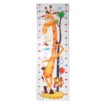 Harga Height Chart Growth Measure Decal Wall Sticker For Kids Art Mural Removable Cartoon Pvc Children