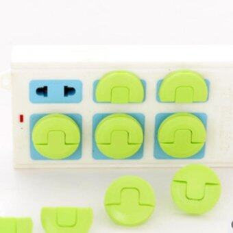 Harga 24PCS Protector Thick Electricty Plug In The Socket Baby Safe Lock Outlet Plug Cover for Kids Safety Proof Electric Shock Guard - intl