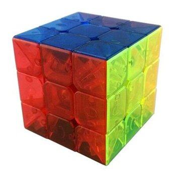 Harga MoYu AoLong V2 3x3x3 Enhanced Edition Stickerless Speed Cube Transparent - intl
