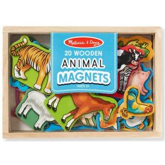Harga Melissa & Doug Wooden Animal Magnets