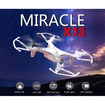 Harga Astro SYMA X13 RC Quadcopter 6 Axis 2.4G 4CH ( White )