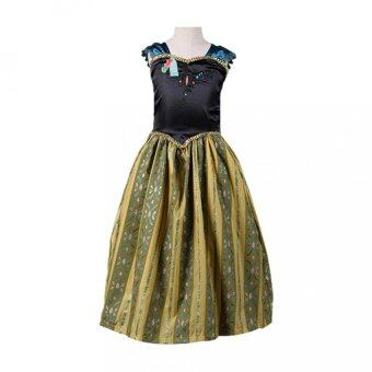 Harga Girls Dress Summer Princess dress with crown