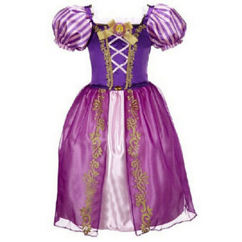 Harga Princess Dress Children Clothing Girl's Dress Purple - intl