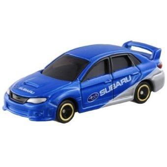 Harga Tomica No.7 รถเหล็ก Subaru ImprezaWrx Sti 4door Group R4 (Blue)