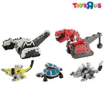 Harga Dinotrux Construction vs Destruction Diecast Mega Pack