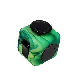 Harga Camouflage Magic Fidget Cube Relieves Squeeze Fun Stress Reliever Anxiety Multicolor - intl