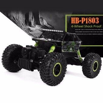 Harga Astro รถไต่หิน Scale 1:18 Rock Crawler 4WD 2.4ghz (Green)