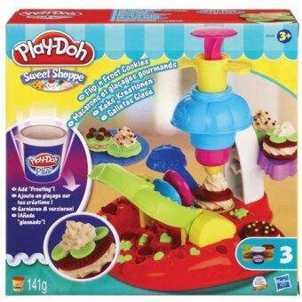 Harga Play Doh Sweet Shoppe Flip'N Frost Cookies (Blue)