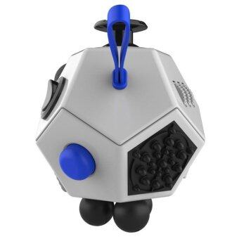 Harga Fidget Cube Stress Anxiety Cube Toy Relieves Stress And Anxiety And Relax Grey - intl