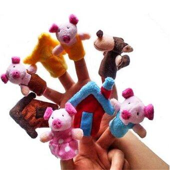 Harga Three Little Pigs Finger Toys