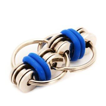 Harga Bike Chain Fidget Toy Stress Reducer for Children and Adults,ADHD ADD Autism&Stress,Blue - intl