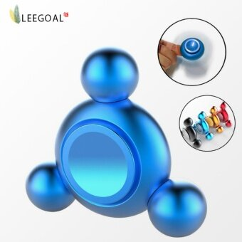 Harga leegoal Hand Spinner Toys ,Fidget Spinner Perfect For ADD, ADHD, Anxiety, And Stress Relief (Blue) - intl