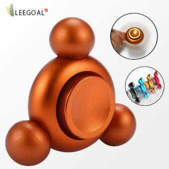 Harga leegoal Hand Spinner Toys ,Fidget Spinner Perfect For ADD, ADHD, Anxiety, And Stress Relief (Gold) - intl