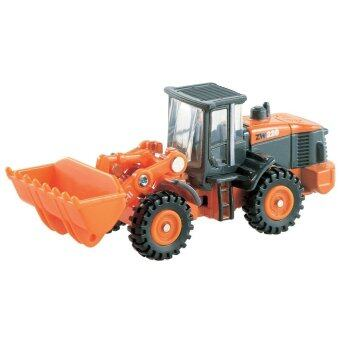 Harga Tomica No.71 รถเหล็ก Hitachi Construction Machinery Wheel Loader ZW220 (Orange)