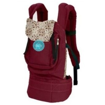 Harga Baby A Cotton Baby Carrier-Wine Red - Intl