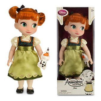 Harga Frozen Disney Animators' Collection Anna Doll 16''