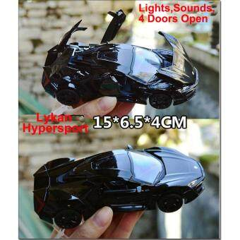 New Arrival 1:32 Fast&Furious 7 Lykan Hypersport Diecast ModelCar with Light & Sounds,Door Opening-Black