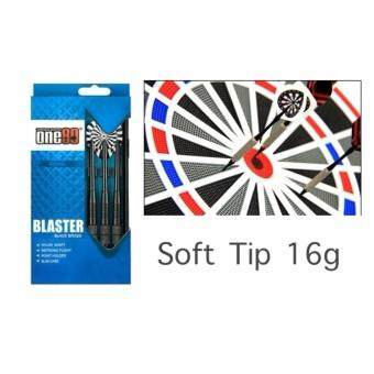 ONE80 Darts Blaster Black Brass-Soft Tip 16g