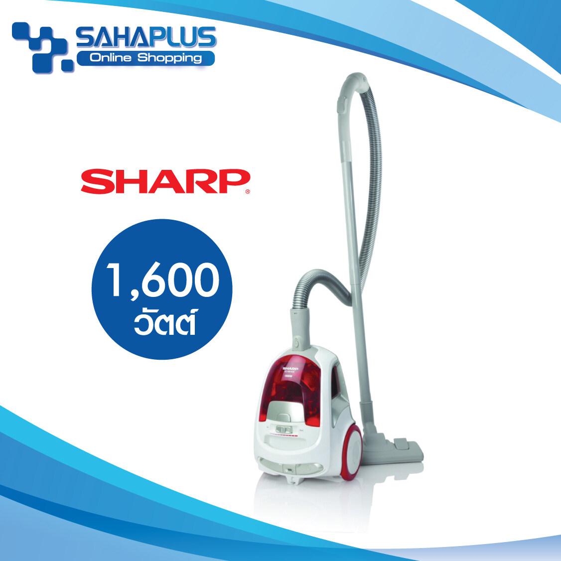 เครื่องดูดฝุ่น Sharp รุ่น Ec-Ns16-R/v ขนาด 1,600 W ( รับประกันสินค้า 1 ปี ).