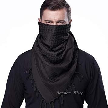 ผ้าชีมัค SHEMAGH ✨ ผ้าพันคอทหาร ผ้าพันคอผู้ชาย ผ้าพันคอกันหนาว กันลม กันแดด งานดีกว่าใคร โปรดระวังสินค้าเลียนแบบ