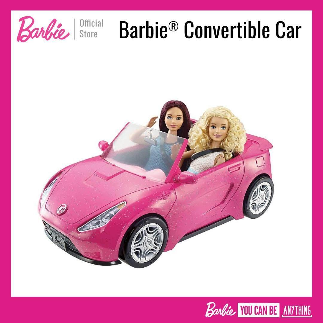 Barbie® Convertible Car บาร์บี้ รถเปิดประทุน 2 ที่นั่ง ของเล่นเด็ก, รถตุ๊กตา Dvx59.