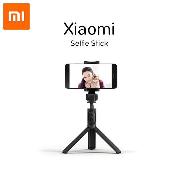Xiaomi Tripod Selfie Stick - ไม้เซลฟี่+ขาตั้งมือถือ เชื่อมต่อผ่านรีโมทบูลทูธ 3.0 ได้ รองรับการใช้งาน Android 4.3,ios 5.0 ถ่ายรูปได้สะดวกขึ้น ไม่มีสายชาร์จ.