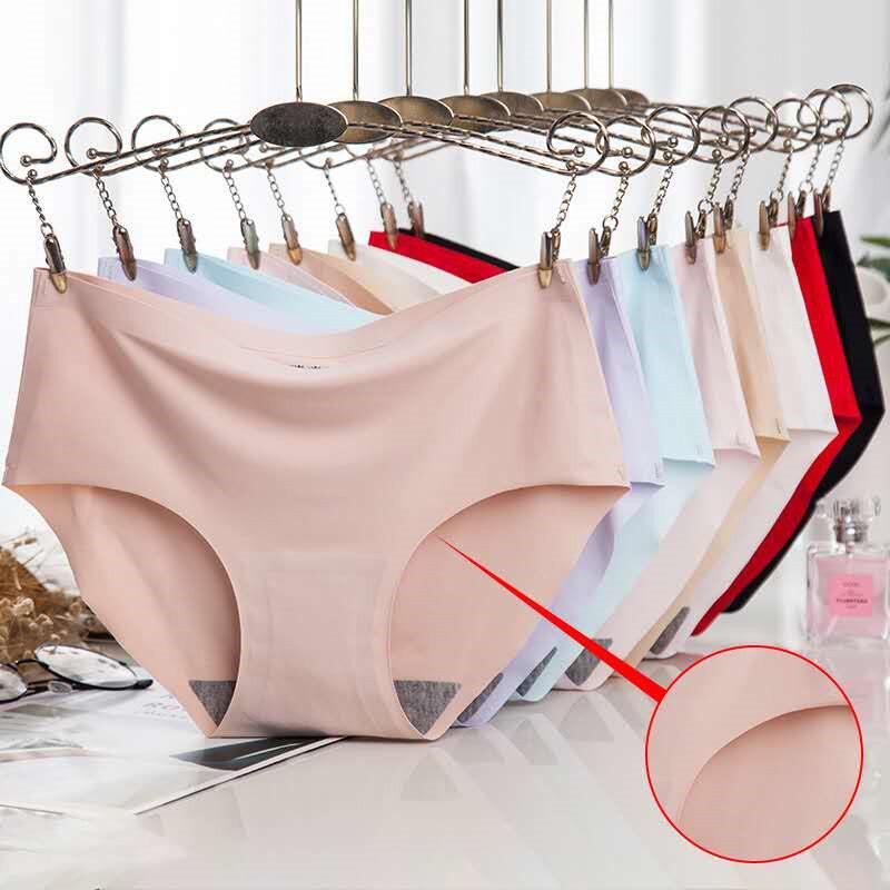ผ้าไหมน้ำแข็งไร้รอยต่อกางเกงชั้นใน ชุดชั้นในสตรี Icy และกางเกงชั้นในเซ็กซี่สบาย กางเกงชั้นในไร้รอยต่อ.