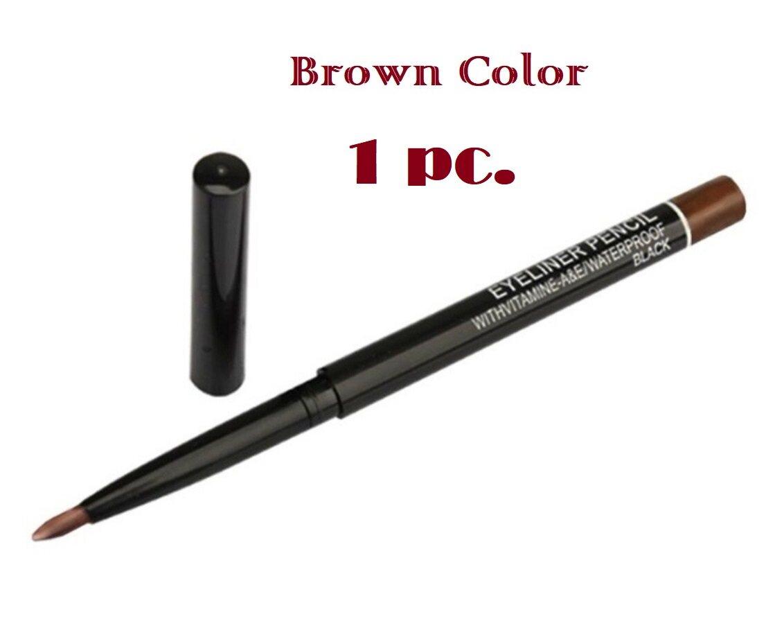 ถูกสุด!! Eye Liner (picture) ส่งจากไทย อายไลเนอร์แบบไส้แบบหมุน ติดทน เหมาะสำหรับเขียนขอบตามีสองสีให้เลือกสีดำและสีน้ำตาล (black/brown).