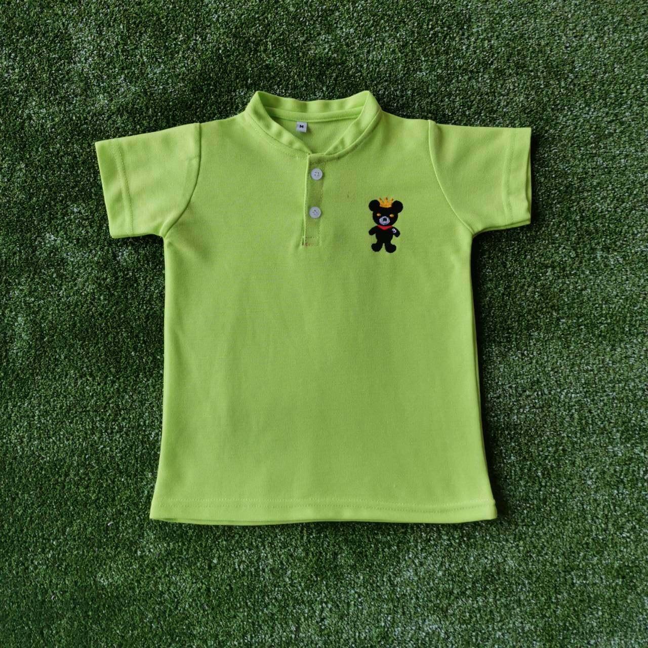 เสื้อโปโลเด็ก คอจีน อายุ0-5 ปี